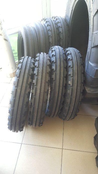 Cauciucuri noi 5.50-16 cu 6 pliuri anvelope de tractor fata R16 Oradea - imagine 3