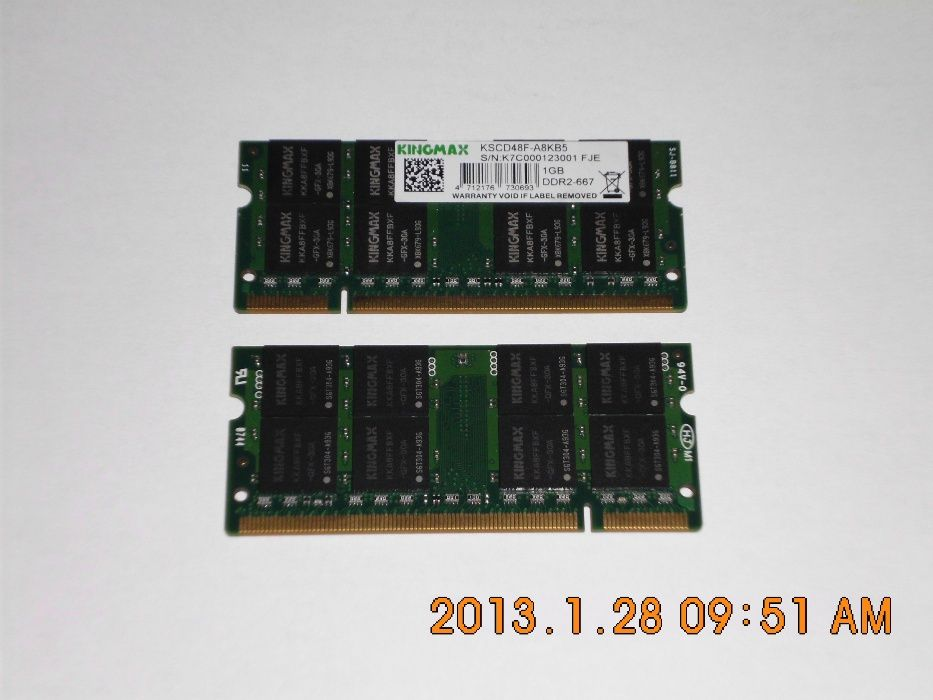 Memorie memorii laptop - notebook - ram rami , ddr1 ddr2 ddr3 pc1 pc3
