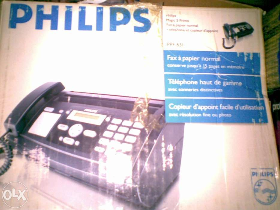 Telefon fax Philips ppf 631 garantie un an, A4 cu film gen indigo