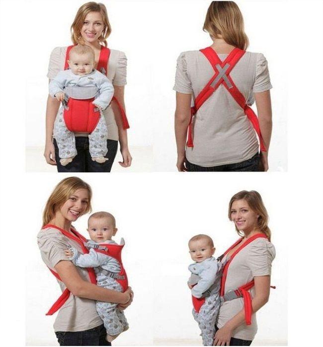 Кенгуру, детска раничка - носилка за бебе