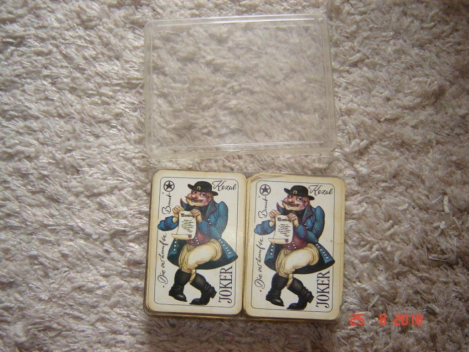 Carti de joc GDR anii 70