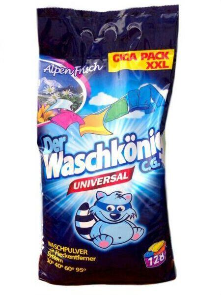 Стиральный порошок универсальный Der Waschkonig 9.8 кг