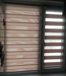 Ролл шторы день ночь