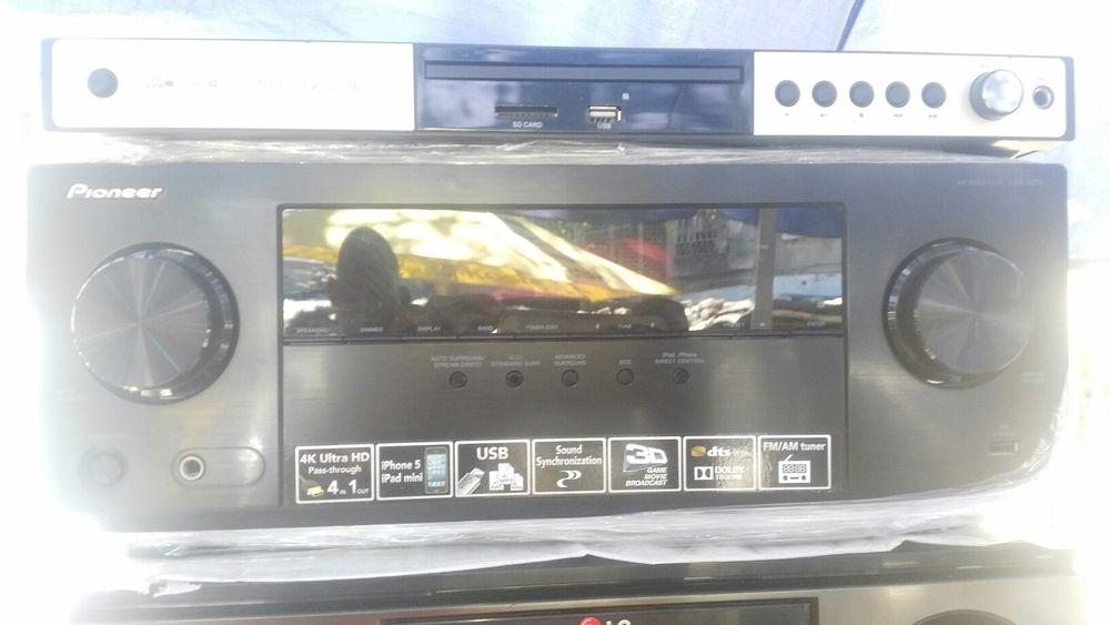 Amplificador PIONEER 4K, HDMI, 3D, USB