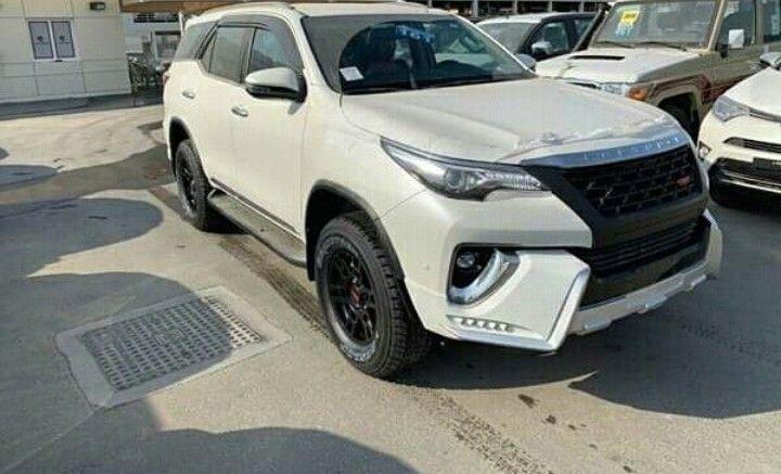 Toyota fortuner novo modelo 2019