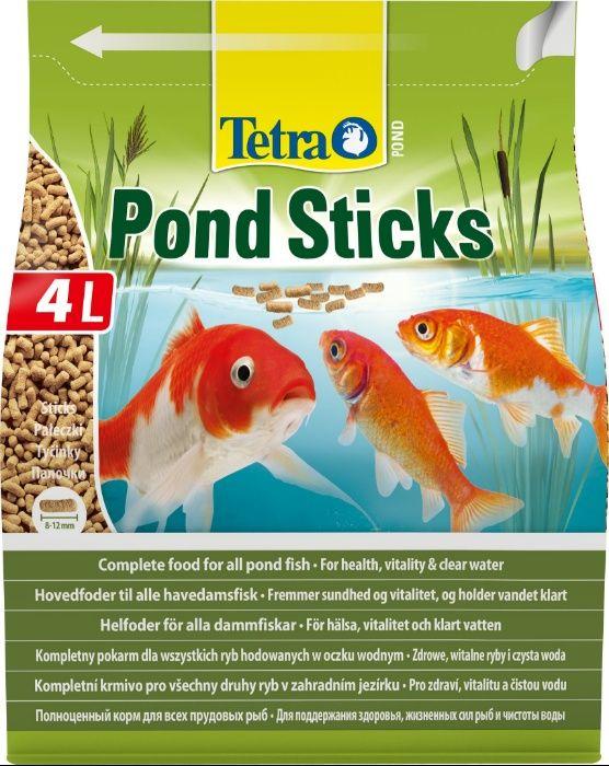 """Корм для прудовых рыб Tetra Pond Sticks 4л в """"Живом Уголке"""" в Таугуле"""