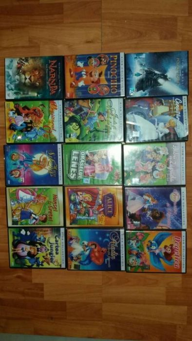 Desene animate pentru DVD