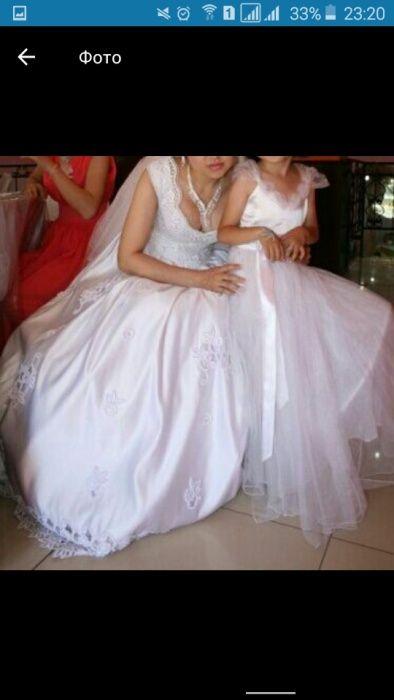 Свадебный платье 25000тг
