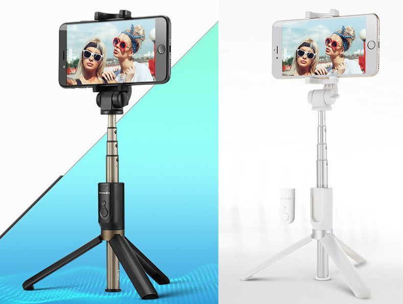 BLITZWOLF - Selfie Stick / Monopod / Tripod - wireless / bluetooth