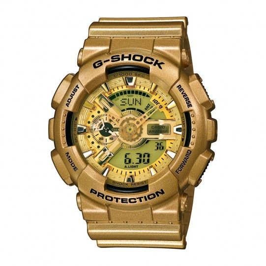 Ceas SPORT Casio G Shock ga110 -gd, GOLD , NOU-ORIGINAL 100%