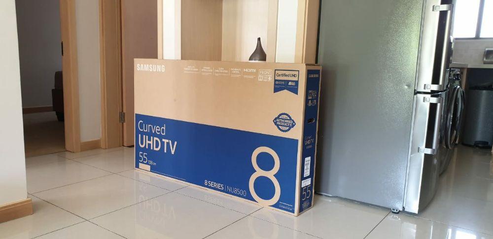 "Samsung 55"" ultra HD 4k ano 2018 NU8500"