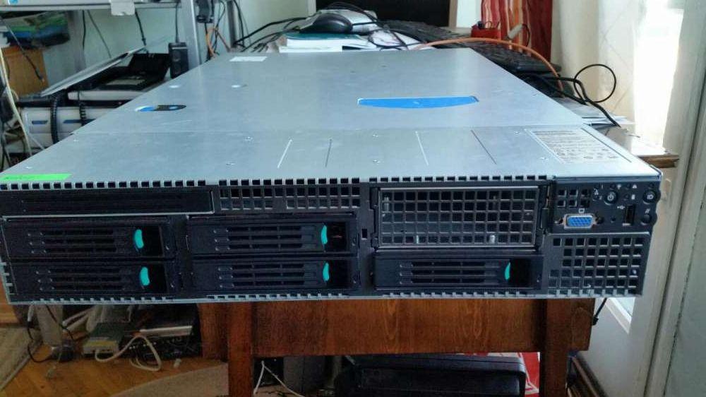Server G7 Intel 2 procesoare quad core 2.4MHz