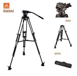 Trepied aluminiu E-Image EG-03A2 ( EG03A2 ) Kit +cap GH03, 190 cm