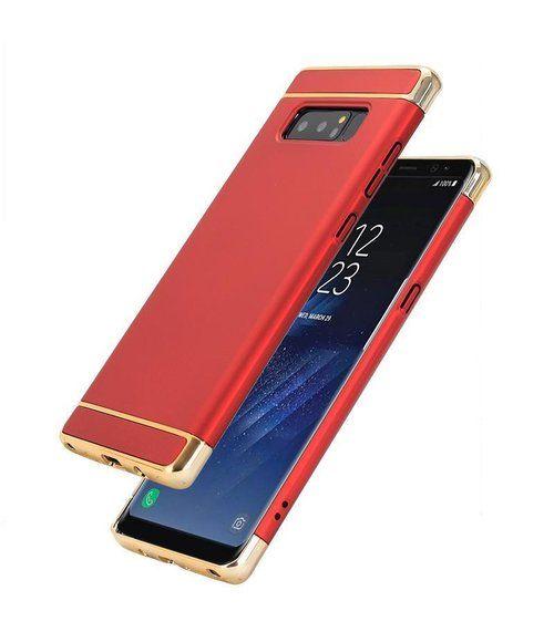 Husa Elegance Luxury 3 in 1 pentru Samsung Galaxy Note 8 Rosie