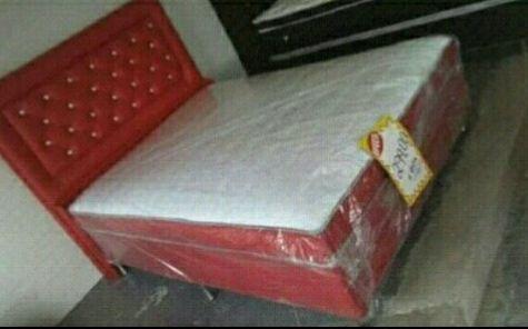Cama de casal completo disponível
