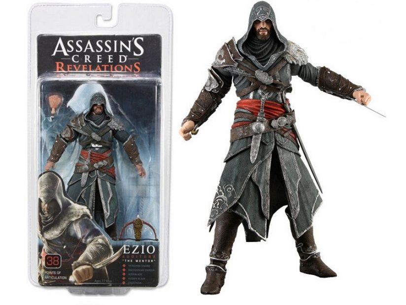 Figurina Ezio Auditore da Frrenze assassin's creed 18 cm NECA