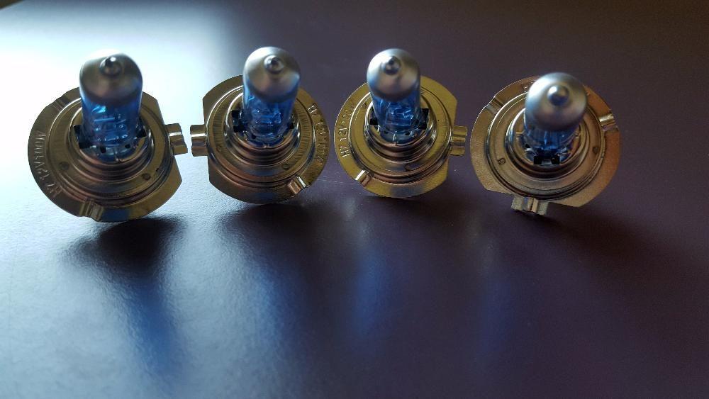 Becuri H7 100W, xenon,5000 K, halogen, auto, masina ,faza,tuning + LED
