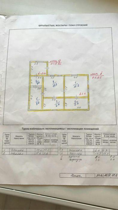Продам 4-комн дом и 30 сот.земли Аулиекольский р-н поселок Новонежинка