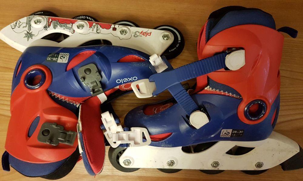 Vand role/patine copii reglabile oxelo decathlon 28-30