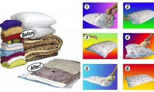 Vacuum Bags - Sacii Minune de Vidat pentru protectia hainelor