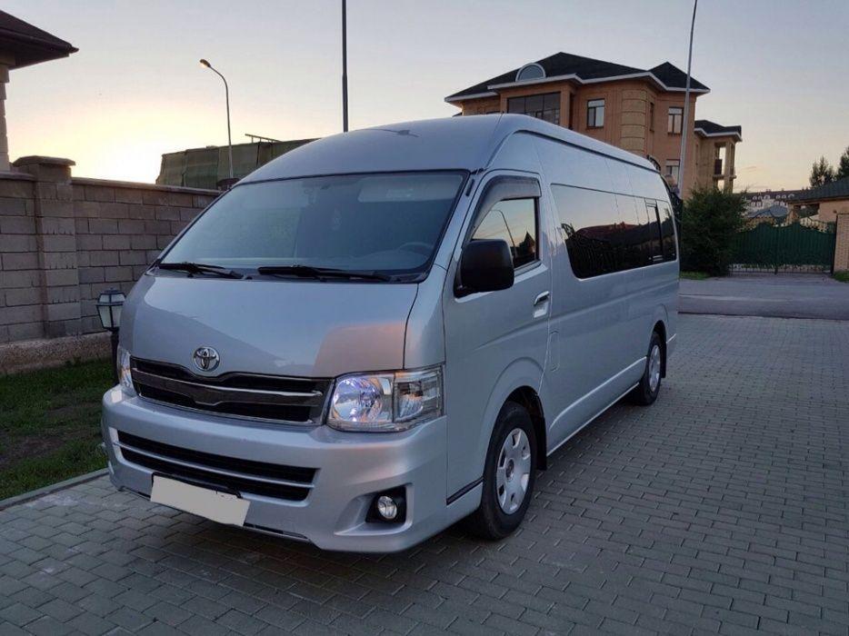 Услуги микроавтобуса/пассажирские перевозки/TOYOTA HIACE/Развозка Астана - изображение 2