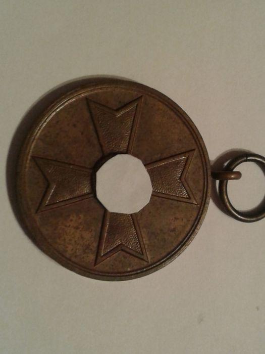 """Медаль Креста """" За военные заслуги"""" 3 рейх. 1939 год. Оригинал. Алматы - изображение 1"""
