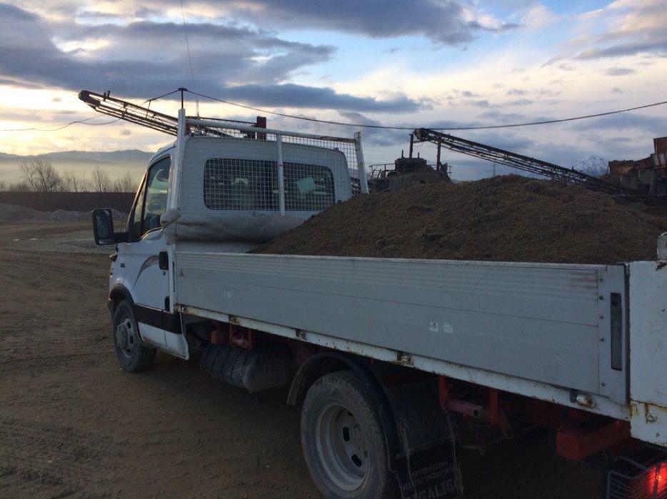 Transport nisip,pietris,beton,lemne,pamant,moloz,materiale constructii