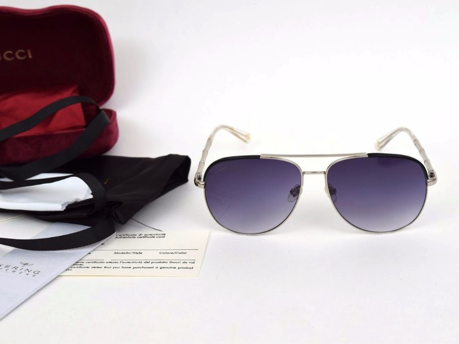 Слънчеви очила Gucci Black