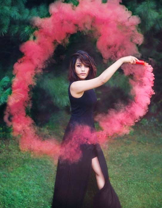 Fum Colorat Fumigene Colorate