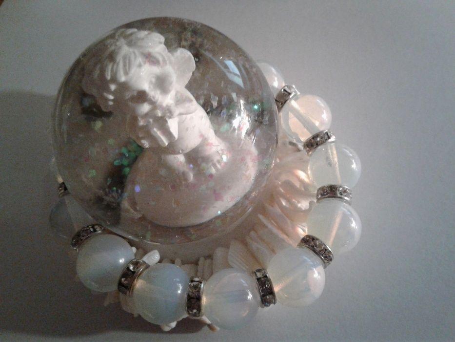 Гривни от естествени кристали за Изобилие и Хармонизиране на чакрите
