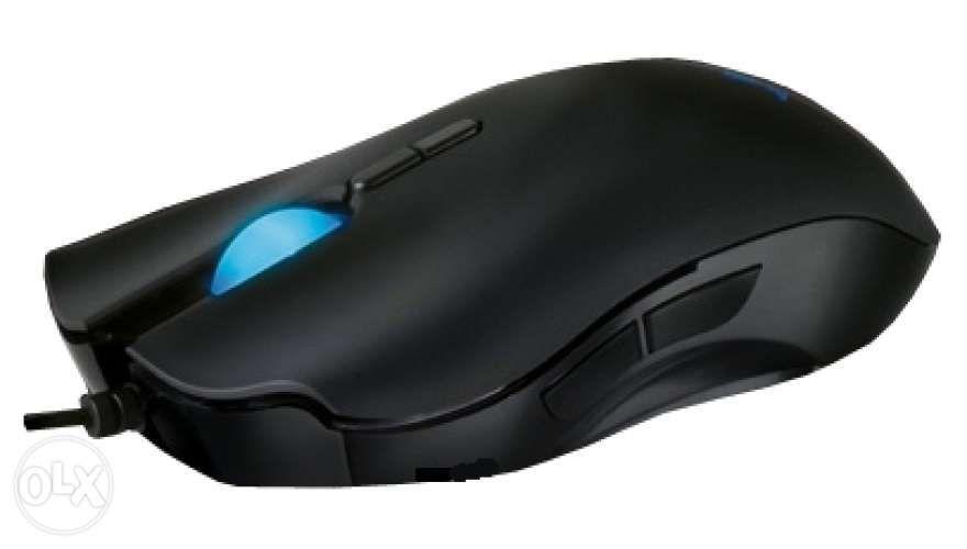 Мышь Razer Lachesis Banshee Blue + Коврик Razer Goliathus Alfa CONTROL