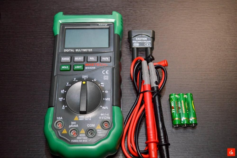 Digital Multimeter LCD мултицет мултиметър