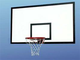 Щит баскетбольный фанера 120*80см