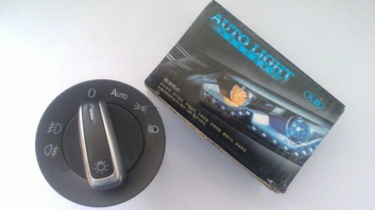 Senzor si bloc lumini functie AUTO pentru Golf 5-6/Jetta/Tiguan/Passat