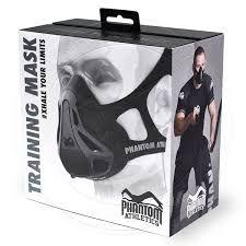 masca antrenament phantom athletics mask cardio gym fitness