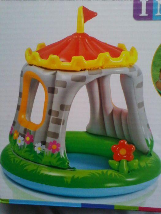 Centru de joaca piscina Primul meu Castel gonflabil,Intex122x122cm No