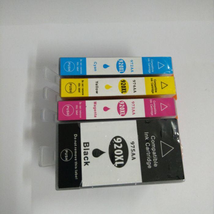4 Tinteiros 920xl (BLACK, CYAN, MAGENTA, YELLOW) compatíve