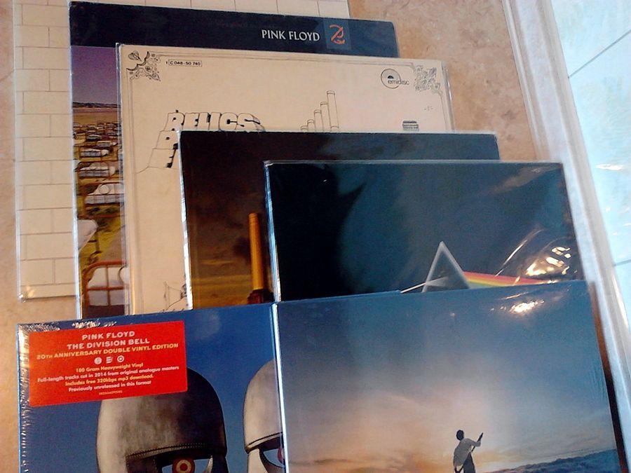 Виниловые пластинки - Pink Floyd