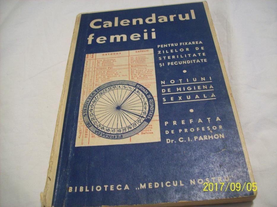 calendarul femeii- biblioteca ''medicul nostru'' an 1939