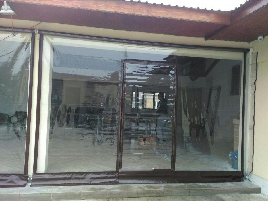 Folie PVC transparenta pentru inchidere terase\foisoare
