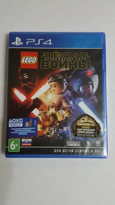 ДИСК PS4 LEGO Звездные воины: пробуждение силы На русском Новый игры