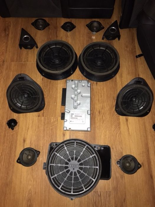 Sistem audio a5 coupe 2008-15 bang & olufsen