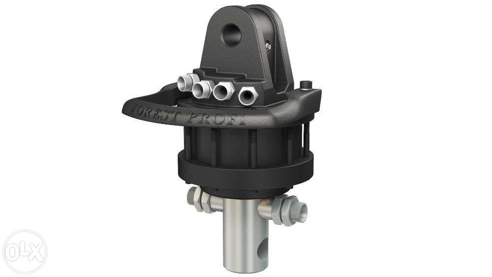 Rotator hidraulic 4 tone cu ax pentru graifer