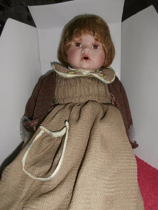 -40% Нова 62см Порцеланова кукла - НОВА ЦЕНА