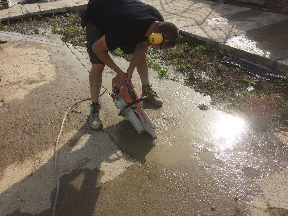 Taiat decupat beton armat caramida bca Suceava