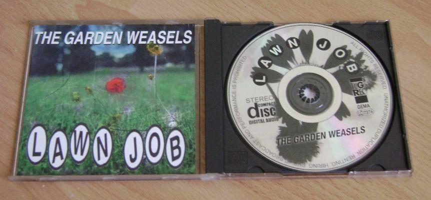CD original THE GARDEN WEASELS - Lawn Job [alternative/ska/punk]