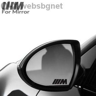 Код 9. Стикери за огледало BMW M Power / Бмв М