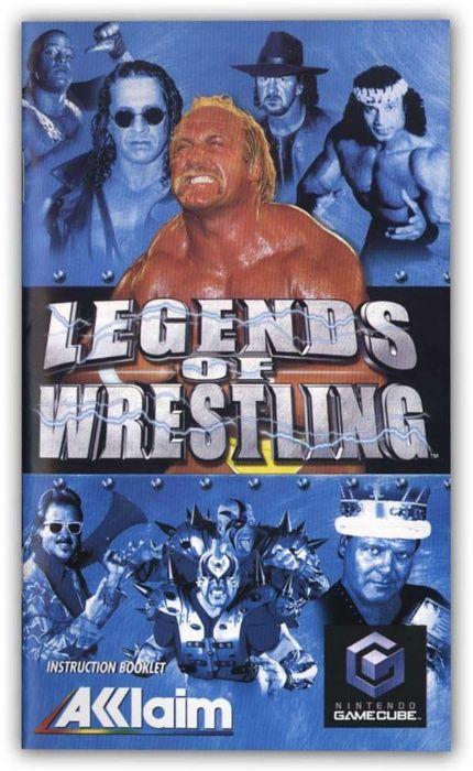 Nintendo GameCube Joc original Legends of Wrestling