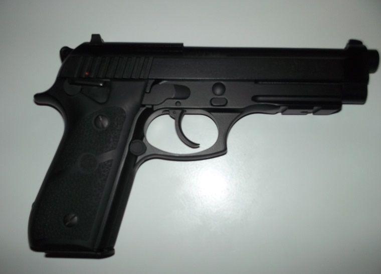 ATENTIE!! Pistol Airsoft ULTRA PUTERNIC!! 4J (No Recul Blowback)cu co2
