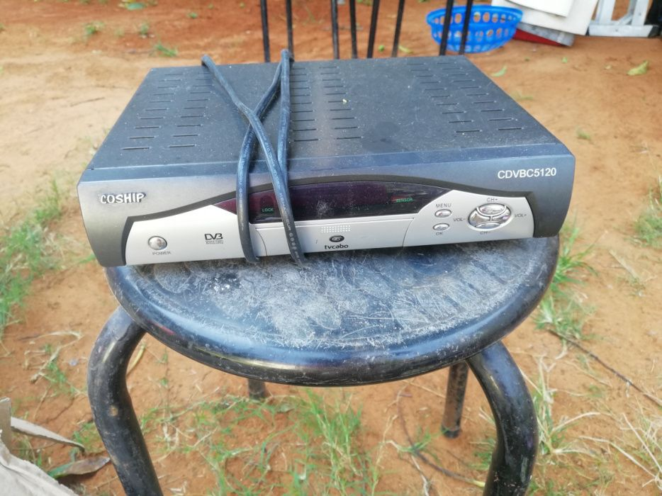 Decoder e Wireless TV CABO